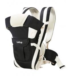 Buy Luvlap Elegant Baby Carrier – Black Online in India