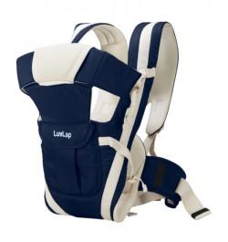 Buy Luvlap Elegant Baby Carrier – Dark Blue Online in India