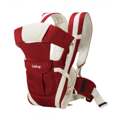Luvlap Elegant Baby Carrier – Red