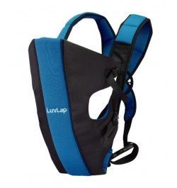 Buy Luvlap Sunshine Baby Carrier – Black & Blue Online in India