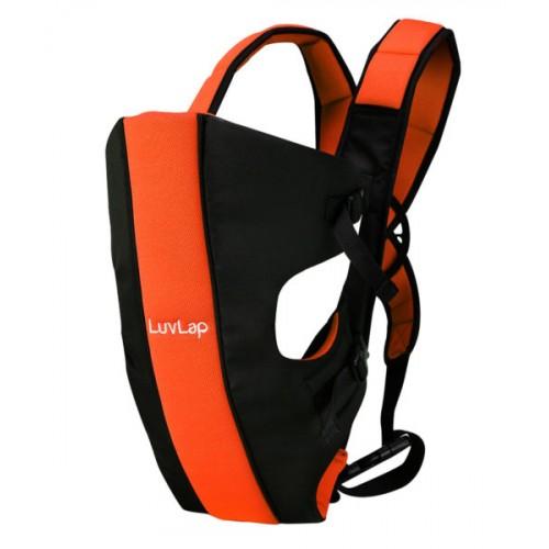Luvlap Sunshine Baby Carrier – Black & Orange