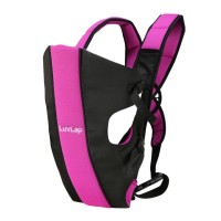 Luvlap Sunshine Baby Carrier – Black & Pink