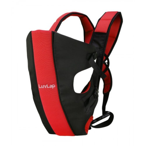 Luvlap Sunshine Baby Carrier – Black & Red