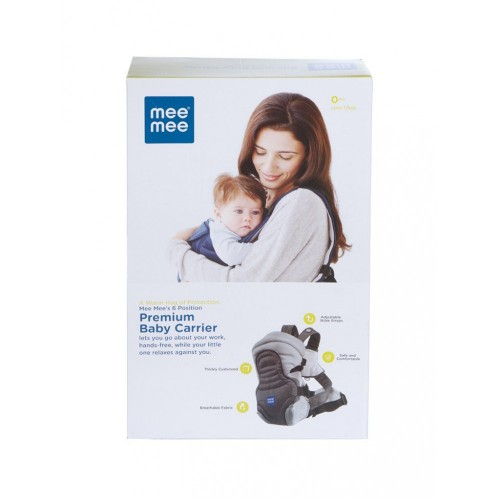 Mee Mee 6 Position Premium Baby Carrier (Red)