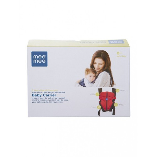 Mee Mee Lightweight Breathable Baby Carrier (Navy Blue)