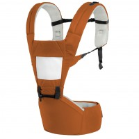 R for Rabbit Upsy Daisy - Smart Hip Seat Baby Carrier (Brown Cream)