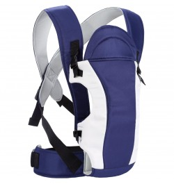 R for Rabbit Chubby Cheeks - The Cozy Baby Carrier (Royal Blue)