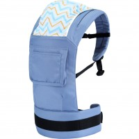 R for Rabbit Hug Me Elite - The Ergonomic Baby Carrier (Blue)