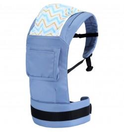 R for Rabbit Hug Me Elite - The Ergonomic Baby Carrier (Blue)