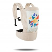 R for Rabbit Hug Me Elite - The Ergonomic Baby Carrier (Cream)