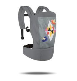 R for Rabbit Hug Me Elite - The Ergonomic Baby Carrier (Grey)