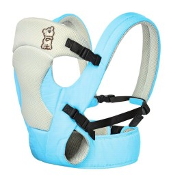 R for Rabbit New Cuddle Snuggle- Comfortable Baby Carrier (Blue Grey)