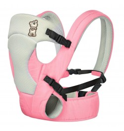 Buy R for Rabbit New Cuddle Snuggle- Comfortable Baby Carrier (Pink Grey) Online in India