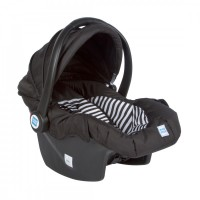 Mee Mee 3 In 1 Baby Car Seat, Carry Cot & Rocker (Black)