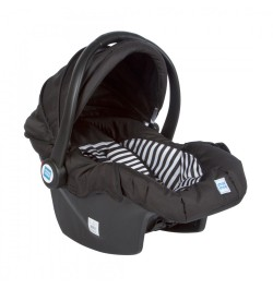 Buy Mee Mee 3 In 1 Baby Car Seat, Carry Cot & Rocker (Black) Online in India