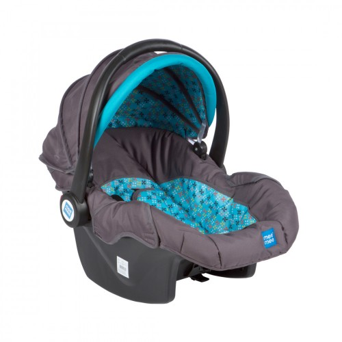 Mee Mee 3 In 1 Baby Car Seat, Carry Cot & Rocker (Blue)