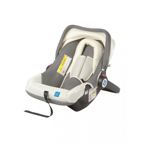 Mee Mee 3 In 1 Baby Car Seat, Carry Cot & Rocker (Light Gray)
