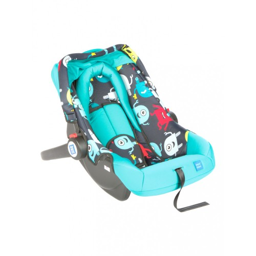 Mee Mee 3 In 1 Baby Car Seat, Carry Cot & Rocker (Light Green)