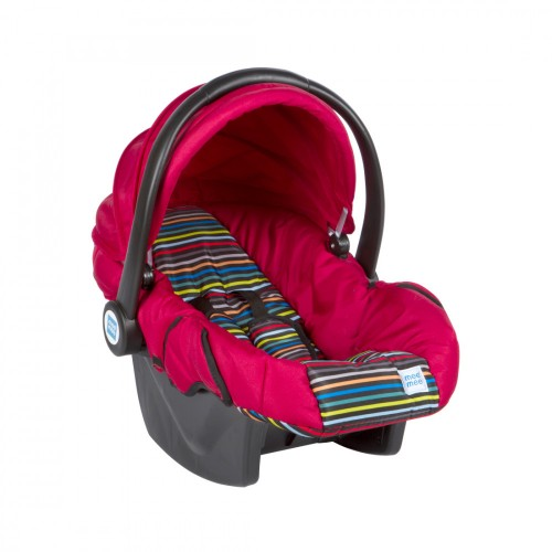 Mee Mee 3 In 1 Baby Car Seat, Carry Cot & Rocker, Red