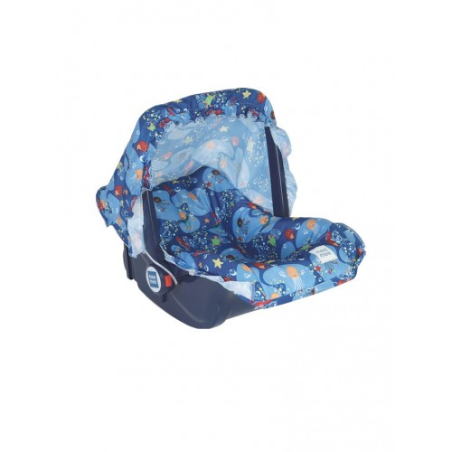 Mee Mee 5 In 1 Cozy Baby Carry Cot with Rocker Function (Blue)