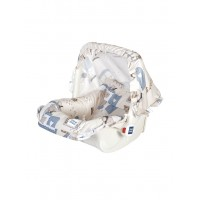 Mee Mee 5 In 1 Cozy Baby Carry Cot with Rocker Function (Cream)