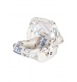 Buy Mee Mee 5 In 1 Cozy Baby Carry Cot with Rocker Function (Cream) Online in India