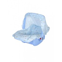 Mee Mee 5 In 1 Cozy Baby Carry Cot with Rocker Function (Light Blue)