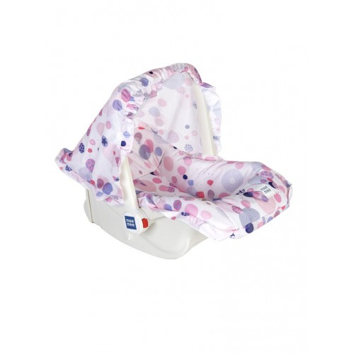 Mee Mee 5 In 1 Cozy Baby Carry Cot with Rocker Function (Pink)