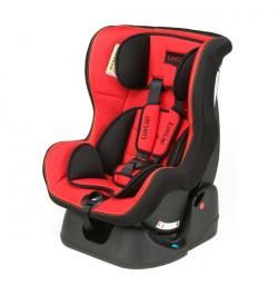 Luvlap Sport Car Seat Red & Black
