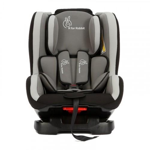 R for Rabbit Jack N Jill – Convertible Baby Car Seat (Black Grey)