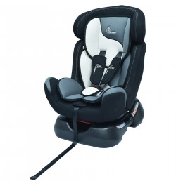 R for Rabbit Jack N Jill Grand – Convertible Baby Car Seat For 0-7 Years Age (Black White)