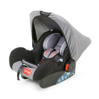 Luvlap Infant Baby Car Seat Cum Carry Cot – Grey