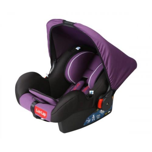 Luvlap Infant Baby Car Seat Cum Carry Cot – Purple