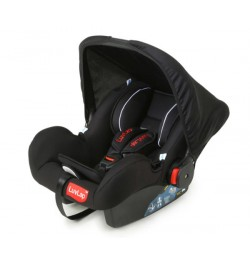 Luvlap Infant Carseat Cum Carry Cot – Black