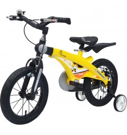 Buy R for Rabbit Tiny Toes Jazz- The Smart Plug and Play Bicycle (16 inch/T - for 4-7 yrs) (Yellow) Online in India
