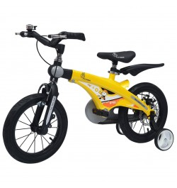 Buy R for Rabbit Tiny Toes Jazz- The Smart Plug and Play Bicycle (14 inch/T - for 3-5 yrs) (Yellow) Online in India