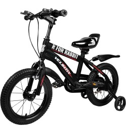 Buy R for Rabbit Velocity 14 inch Bicycle for Kids of 3 to 5 Years Age for Boys and Girls (Black) Online in India