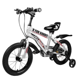 Buy R for Rabbit Velocity 14 inch Bicycle for Kids of 3 to 5 Years Age for Boys and Girls (Grey) Online in India