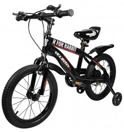 Buy R for Rabbit Velocity 16 inch Bicycle for Kids of 4 to 7 Years Age for Boys and Girls (Black) Online in India