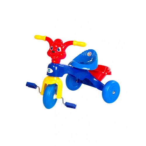Mee Mee Easy to Ride Musical Baby Tricycle with Sturdy Wheels, Blue