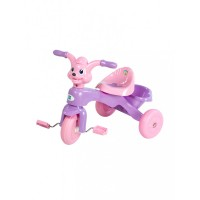 Mee Mee Easy to Ride Musical Baby Tricycle with Sturdy Wheels, Pink