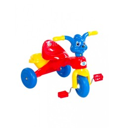 Mee Mee Easy to Ride Musical Baby Tricycle with Sturdy Wheels, Red