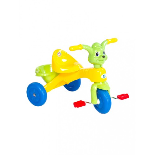Mee Mee Easy to Ride Musical Baby Tricycle with Sturdy Wheels, Yellow