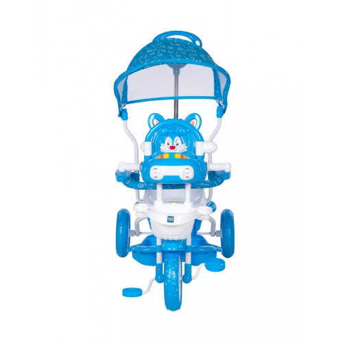Mee Mee Premium Tricycle with Adjustable Seat, Blue