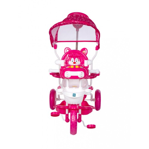 Mee Mee Premium Tricycle with Adjustable Seat, Pink