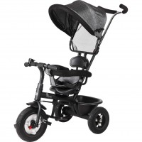 R for Rabbit Tiny Toes Sportz - The Stylish Plug N Play Tricycle For Babies (Grey)