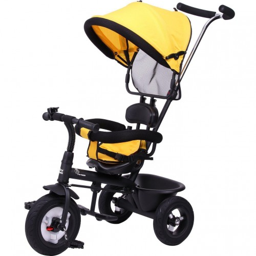 R for Rabbit Tiny Toes Sportz - The Stylish Plug N Play Tricycle For Babies (Yellow)