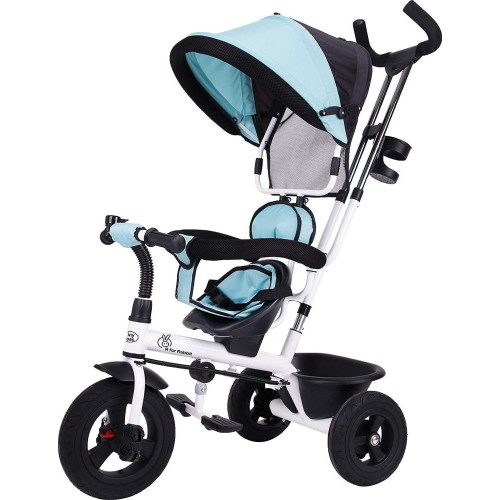 R for Rabbit Tiny Toes Striker - The Tricycle for Baby/ Kids with Striking Looks and Reversible Seat (Green)