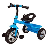 R for Rabbit Tiny Toes - The Smart Plug and Play Tricycle (Blue)