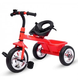 R for Rabbit Tiny Toes - The Smart Plug and Play Tricycle (Red)